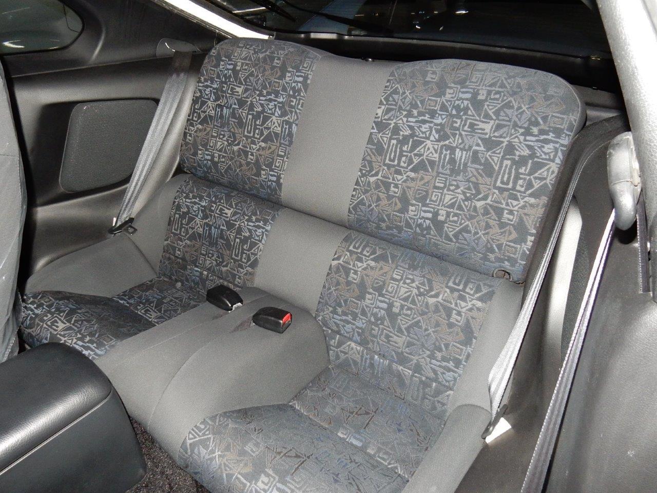 1998 Toyota Supra SZ AEROTOP back seat