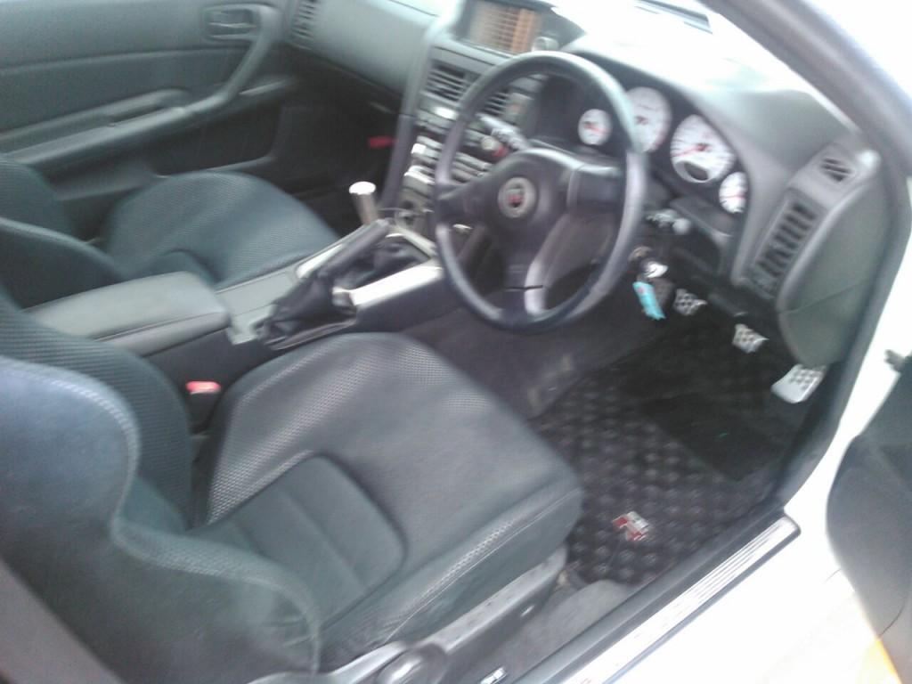 2001 Nissan Skyline R34 GTR VSpec2 interior