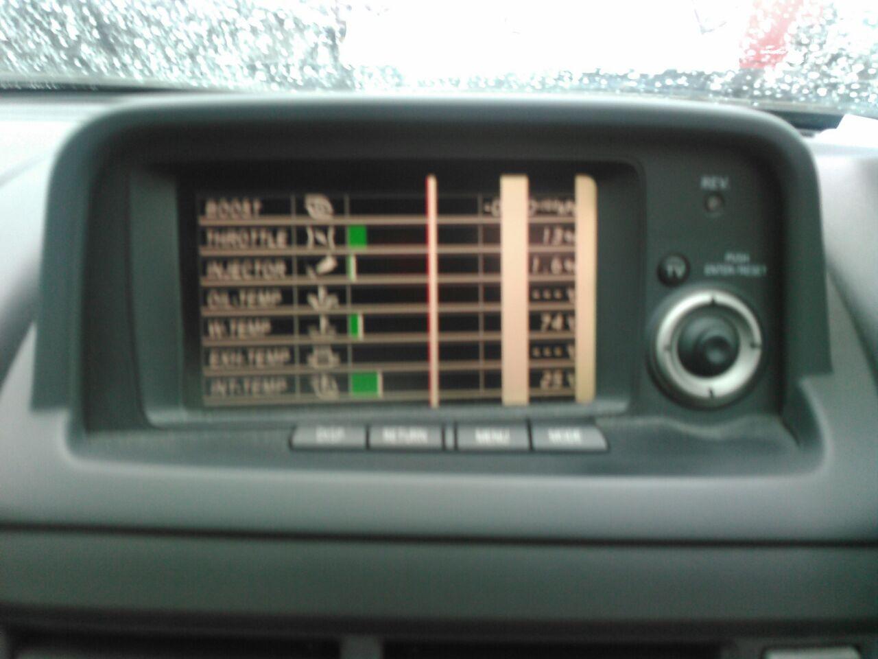 2001 Nissan Skyline R34 GTR VSpec2 tv screen