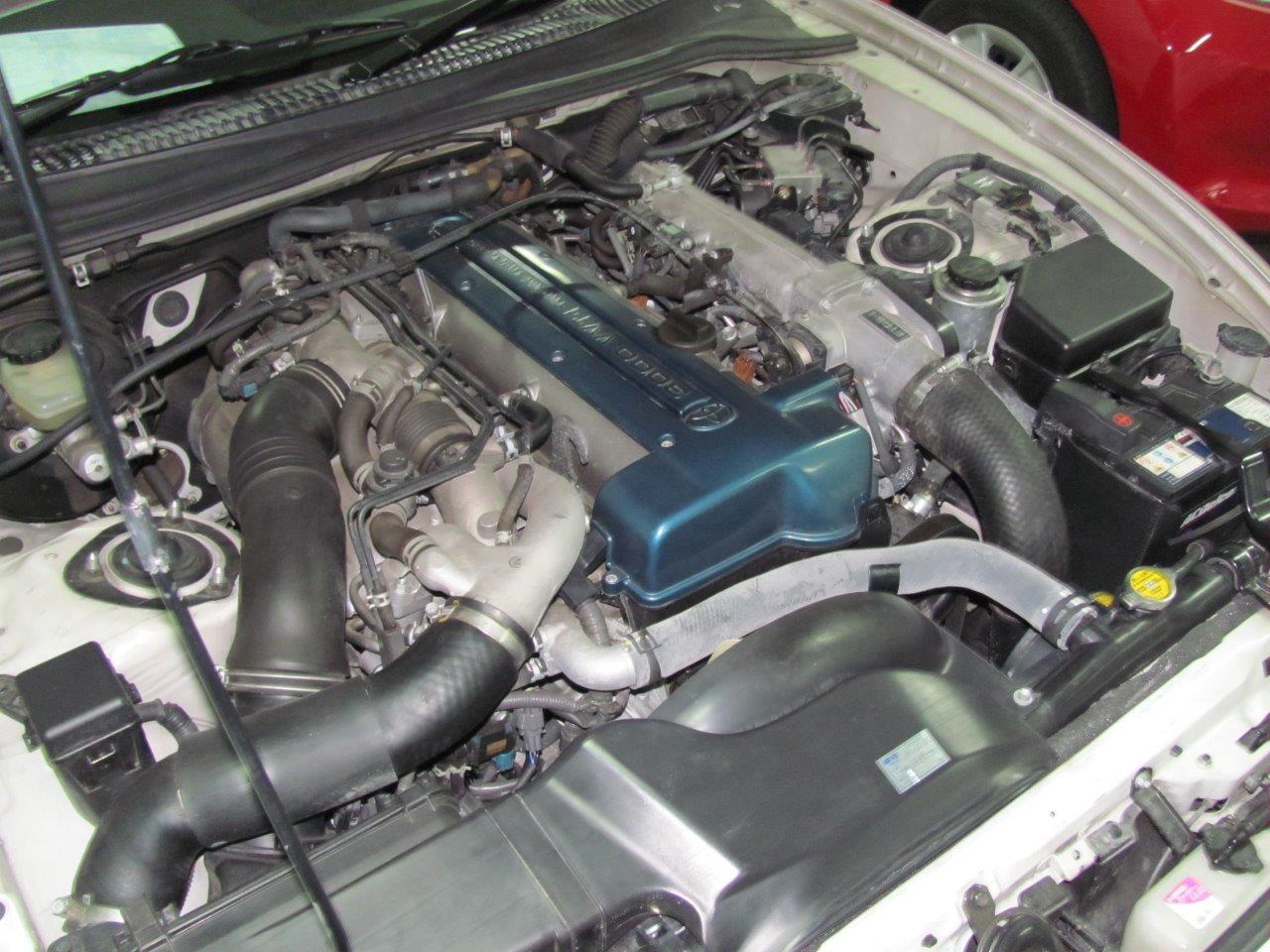 2001 Toyota Supra RZ-S 3L twin turbo VVTi engine