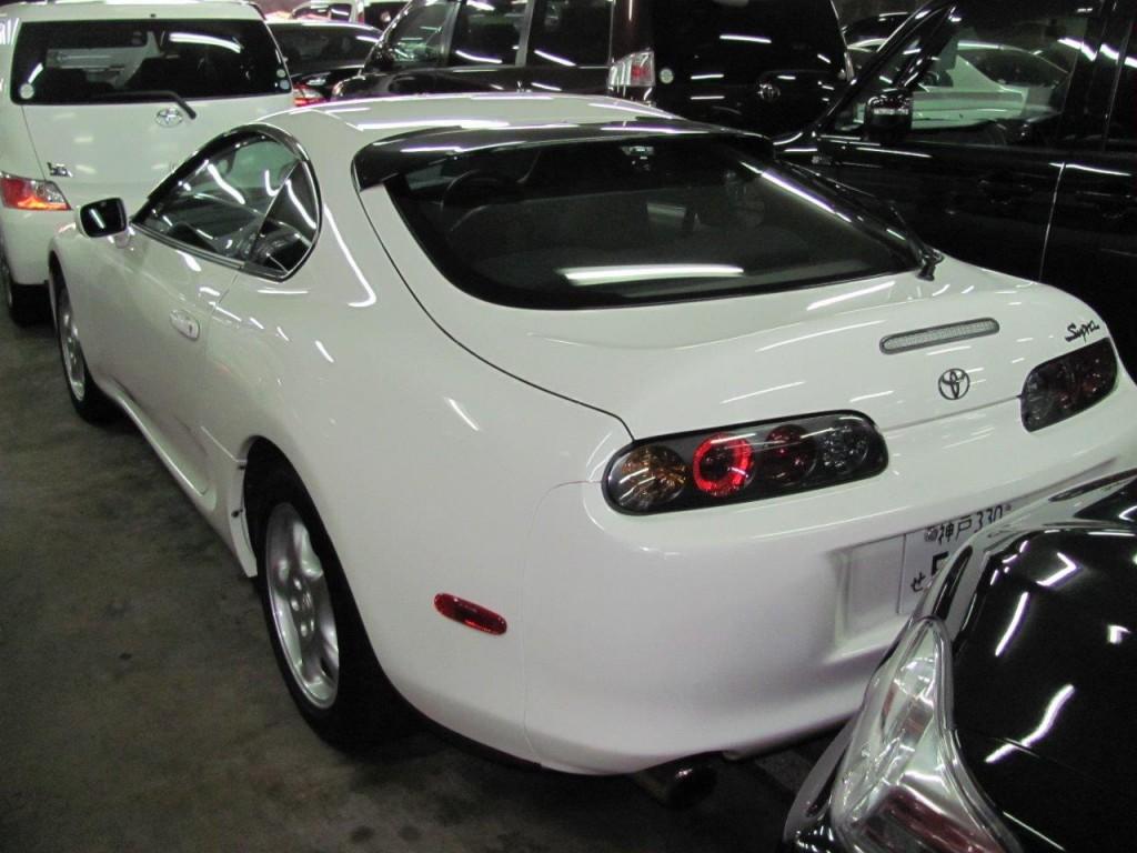 2001 Toyota Supra RZ-S 3L twin turbo rear
