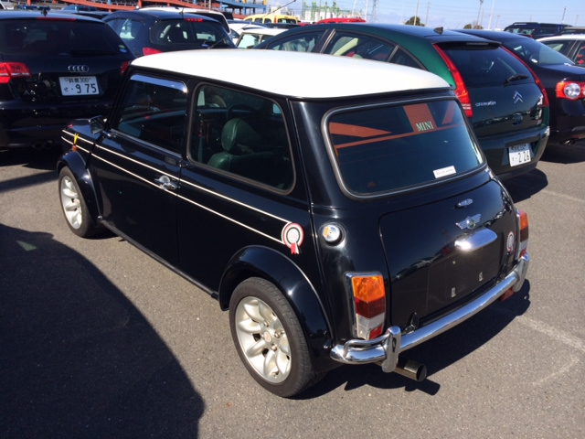 1998 Rover Mini Cooper BSCC LTD rear