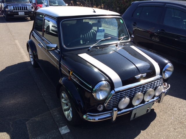 1998 Rover Mini Cooper BSCC LTD front
