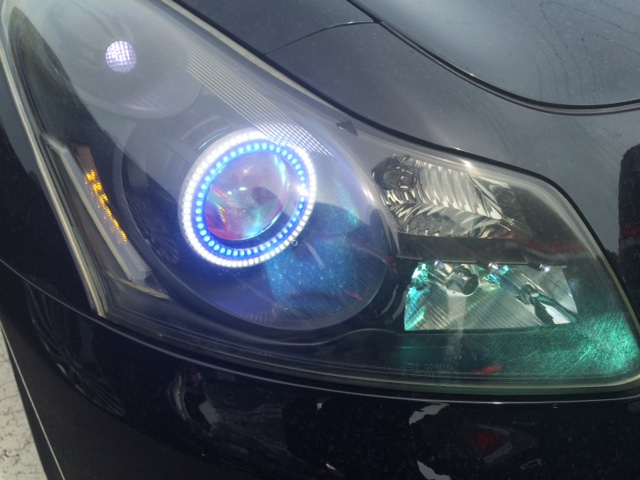 V36 sedan 350GT Type SP HID lights