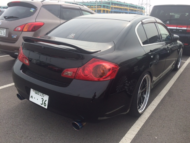 V36 sedan 350GT Type SP bodykit