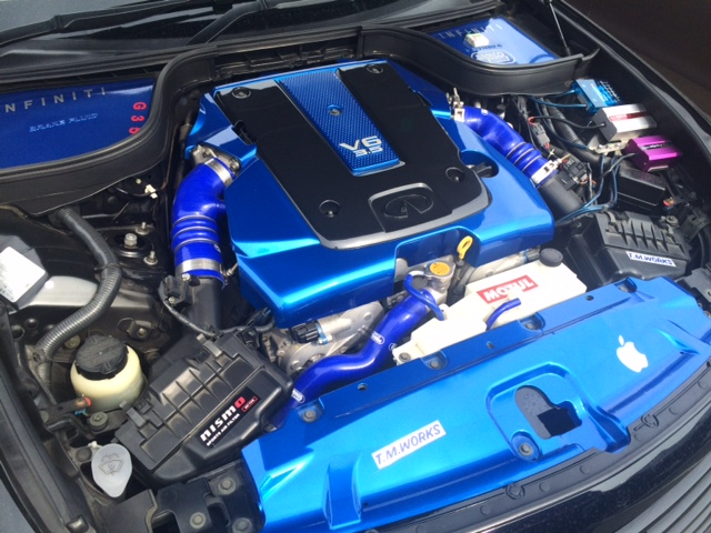 V36 sedan 350GT Type SP modified engine