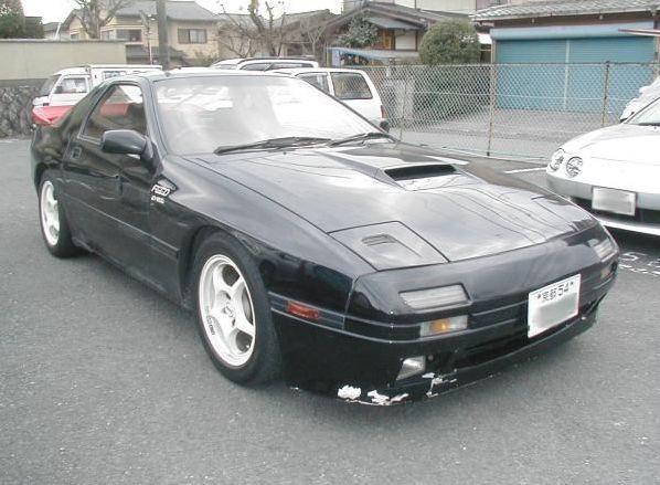 1988 Mazda RX-7 Infini front