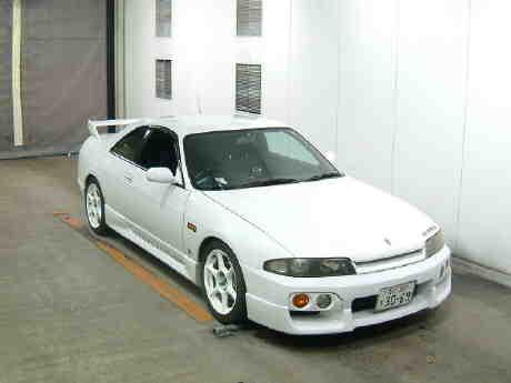 1996 Nissan Skyline R33 Gts-t front auction picture