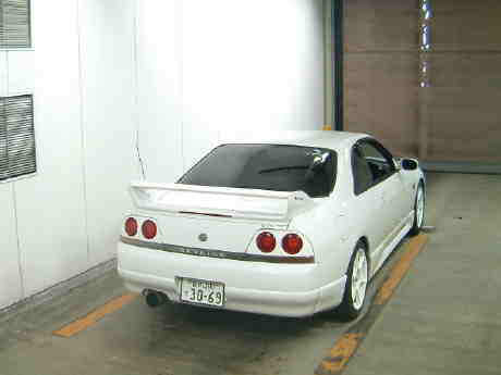 1996 Nissan Skyline R33 Gts-t rear auction picture