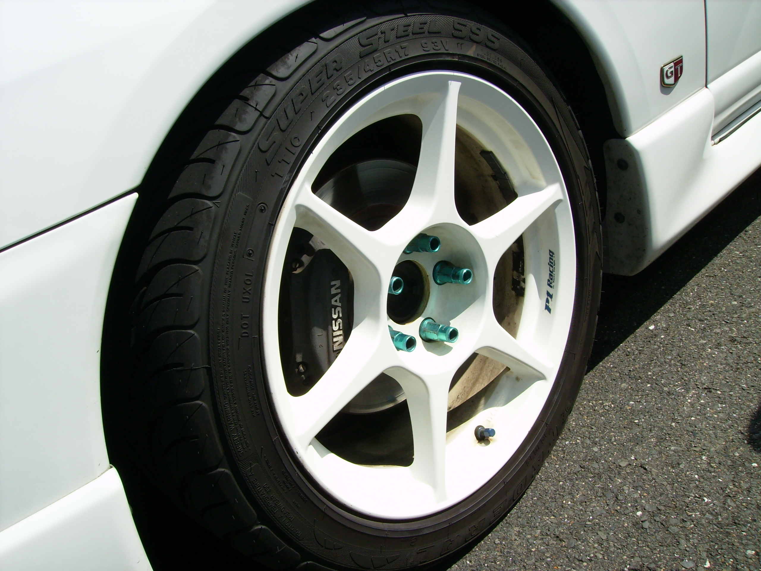 1996 Nissan Skyline R33 Gts-t wheel