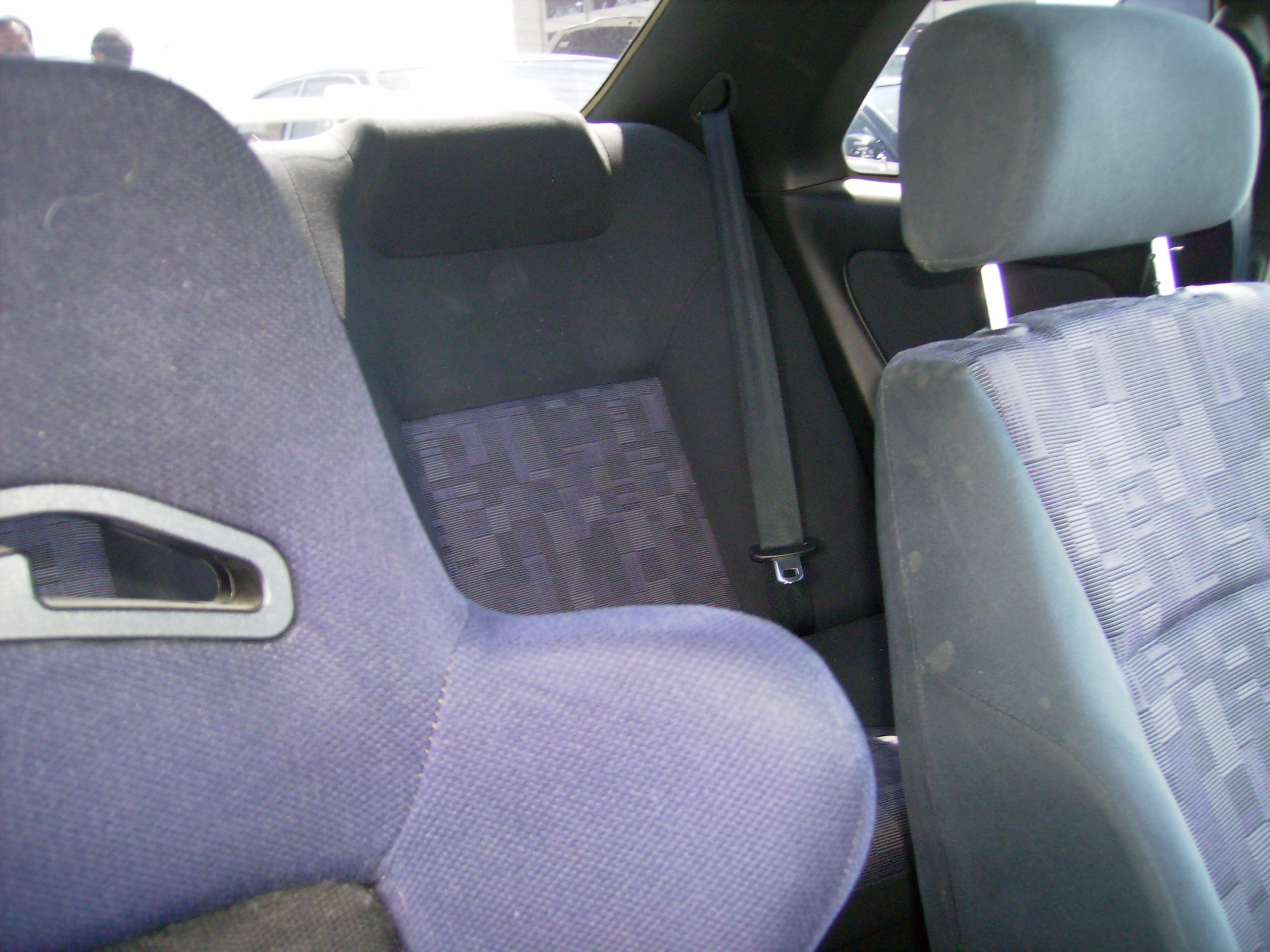 1996 Nissan Skyline R33 Gts-t rear seat
