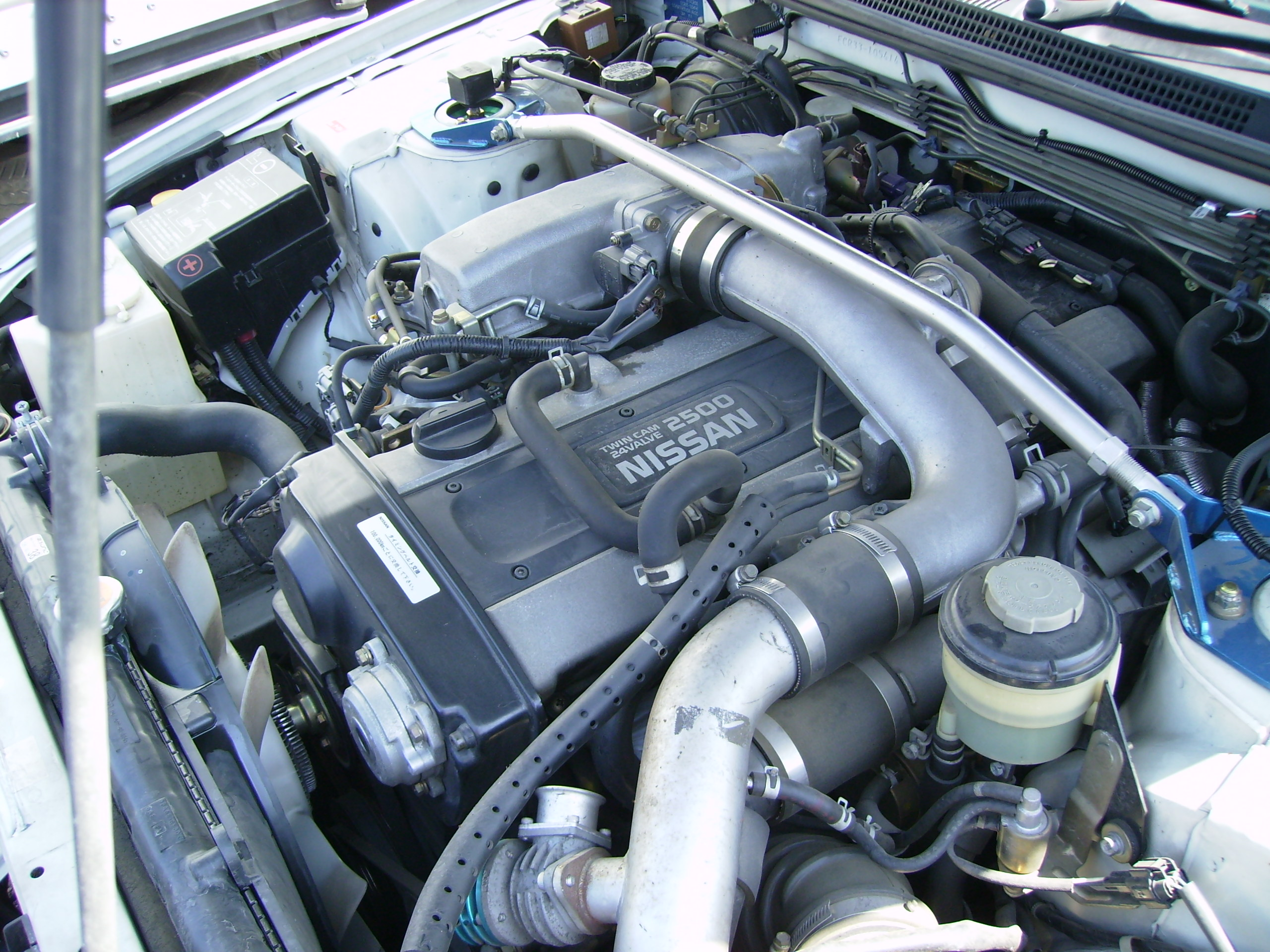1996 Nissan Skyline R33 Gts-t engine