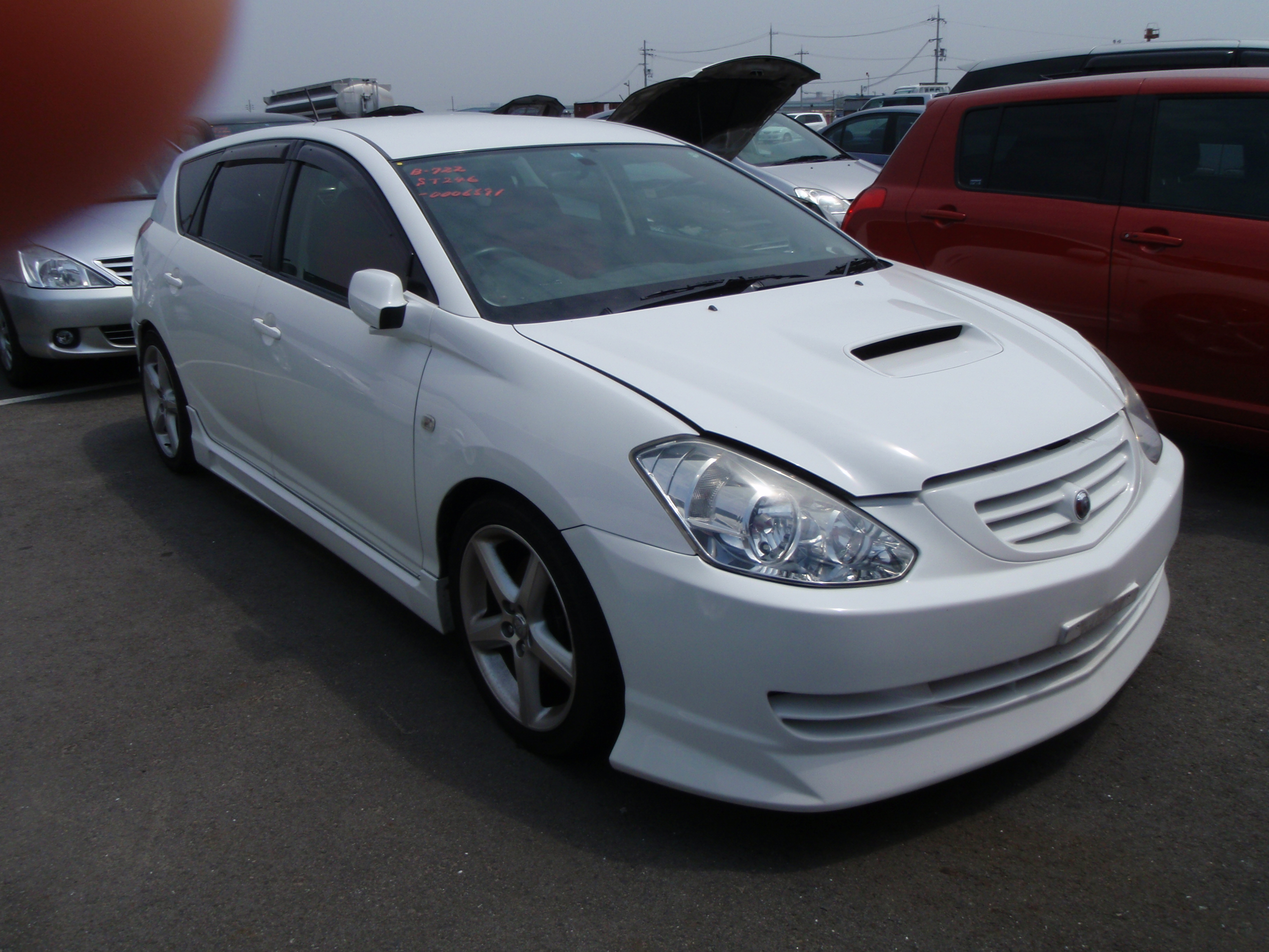 2003 Toyota Caldina GT-FOUR 2L 4WD turbo front