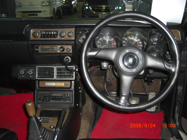 Skyline KGC10 GT coupe Cockpit