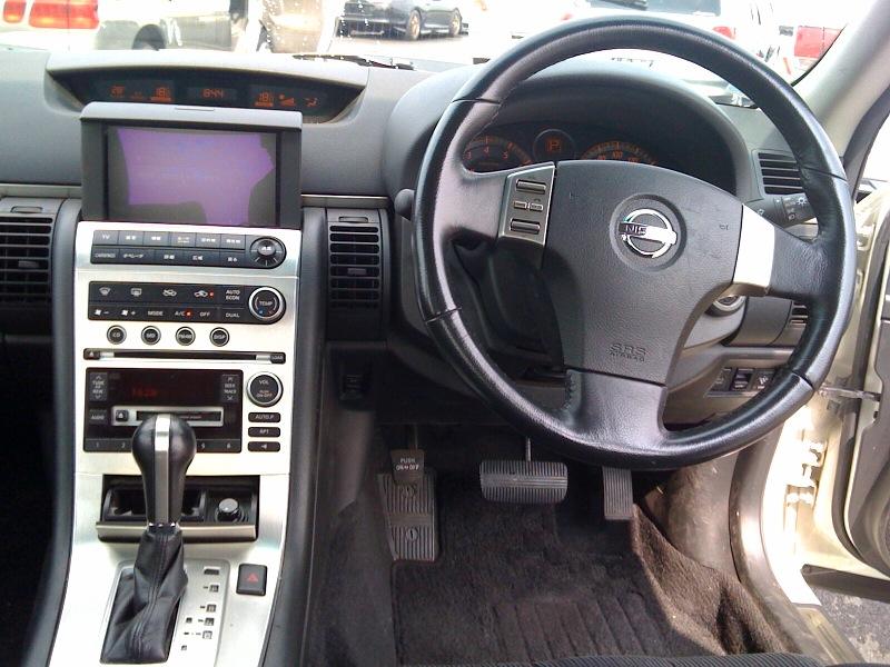 2006 Nissan Skyline V35 350GT Premium sedan interior