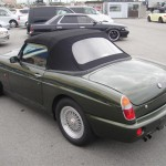 1995 MG RV8 left rear