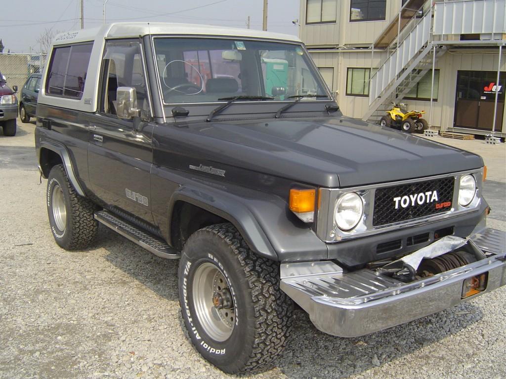 1989 Toyota Landcruiser BJ74 4WD front