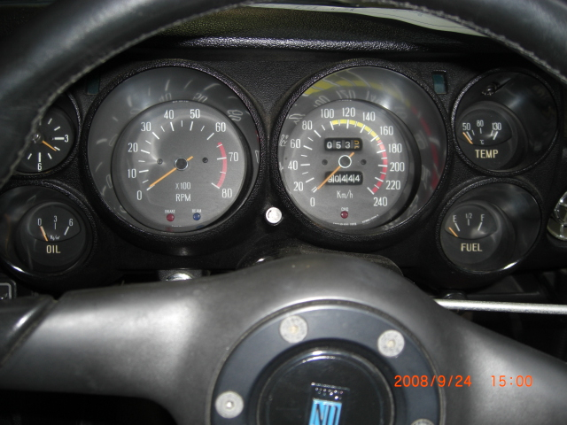 Skyline KGC10 GT coupe Dash