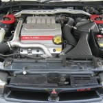 2002 Mitsubishi Galant VR-4 S turbo engine