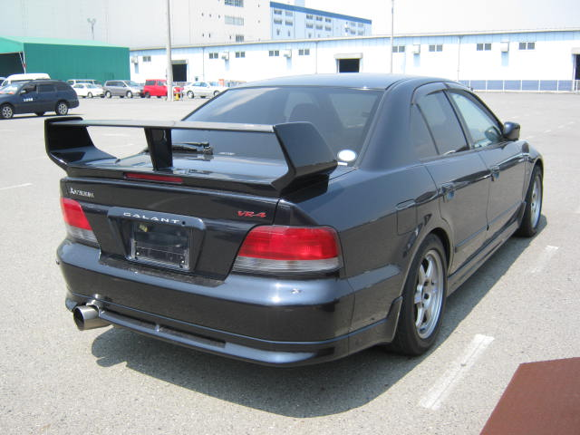 2002 Mitsubishi Galant VR-4 S turbo rear