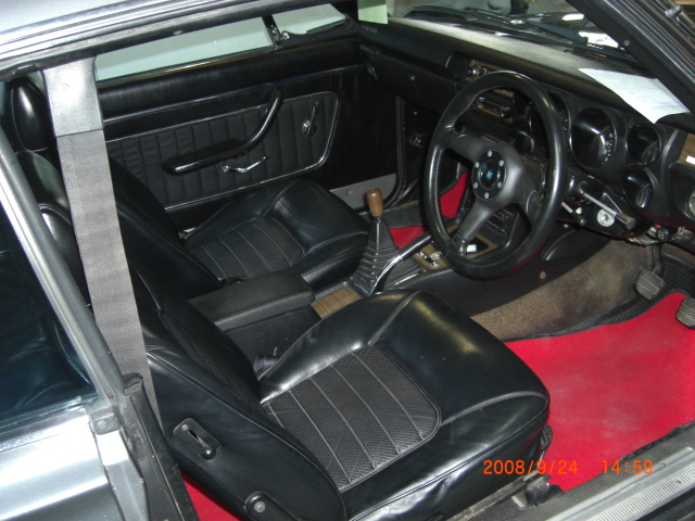 Skyline KGC10 GT coupe Inside