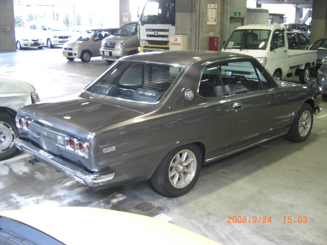 1971 Nissan Skyline KGC10 GT coupe Rear