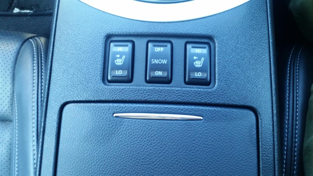 370GT Type SP heated seats