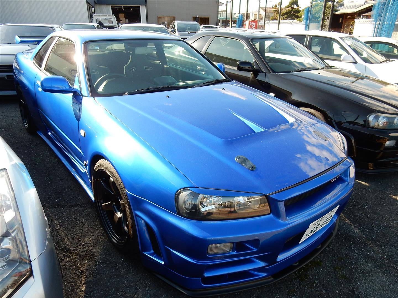 1999 nissan skyline r34 gtr vspec from global auto prestige motorsport