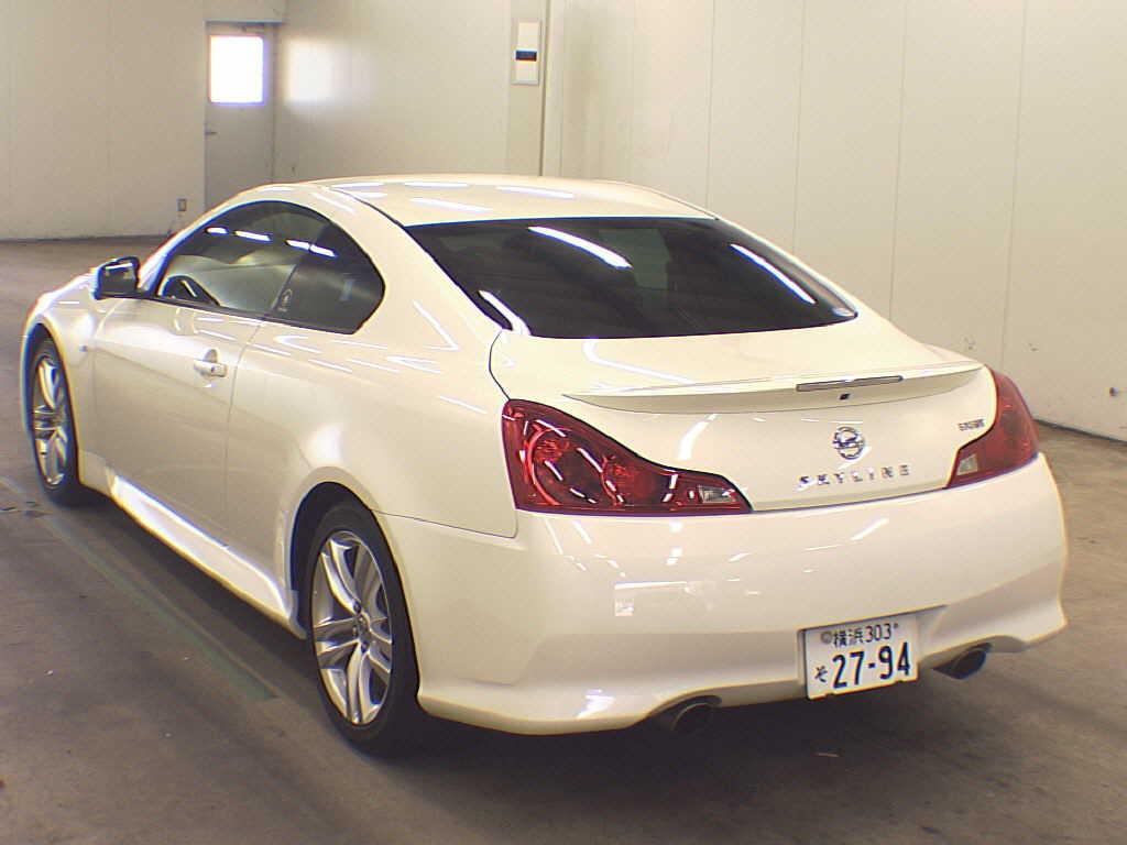 2010 Nissan Skyline V36 coupe