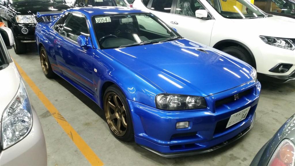 2001 Nissan Skyline R34 GTR VSpec2 3
