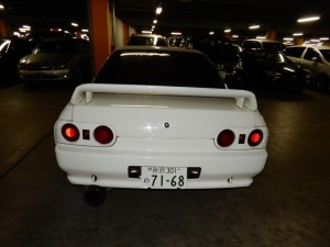 1993 Nissan Skyline R32 GTR rear