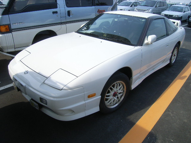 1997 180SX 2L turbo front