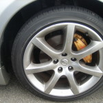Skyline V35 coupe wheel