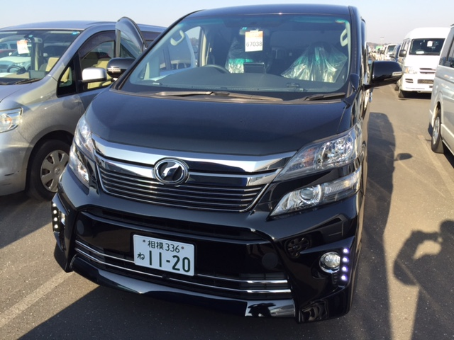 2012 Toyota Vellfire Welcab Sloper front