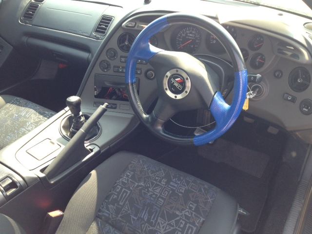 2002 Toyota Supra RZ-S 3L twin turbo 6 speed manual steering wheel