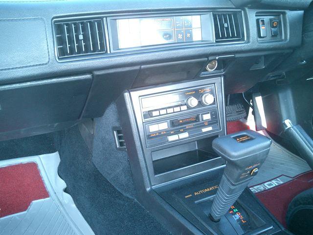 1987 Mitsubishi Starion 6ac