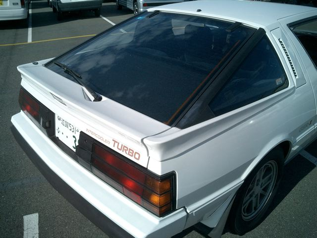 1987 Mitsubishi Starion 7d