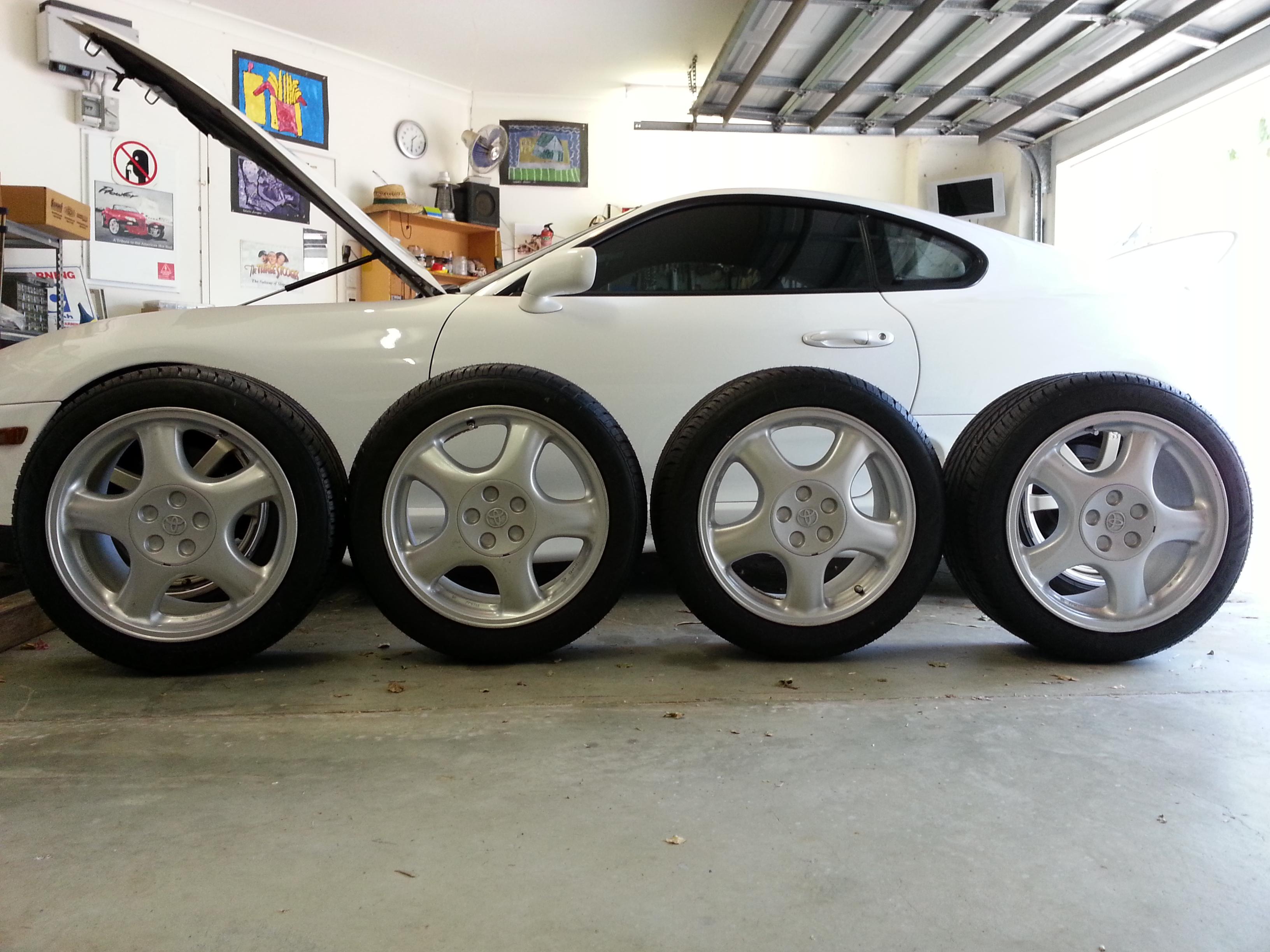 2002 Toyota Supra RZ-S 3L twin turbo 6 speed manual factory alloy wheels