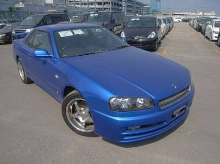 2001 R34 GT-T coupe