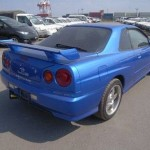 2001 R34 GT-T coupe rear