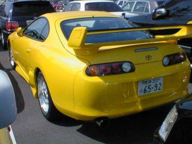 1994 Toyota Supra SZ non turbo rear