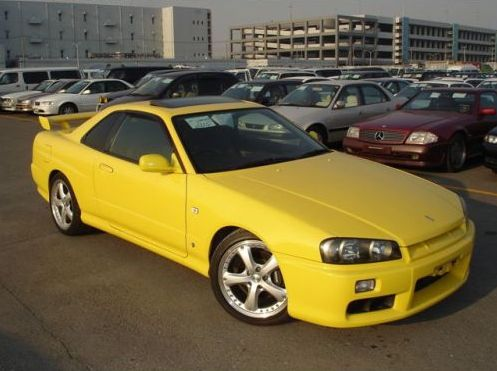 1998 Nissan Skyline R34 GT-T coupe front