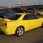 1998 Nissan Skyline R34 GT-T coupe side