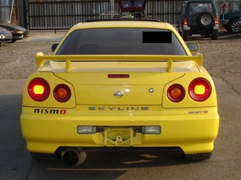 1998 Nissan Skyline R34 GT-T coupe rear NISMO
