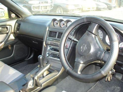Skyline R34 GT-T interior