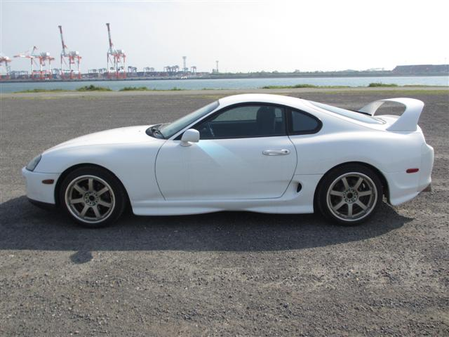 2002 Toyota Supra RZ-S 3L twin turbo 6 speed manual side