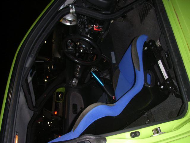 1989 Nissan Silvia 2.6L twin turbo racing seat