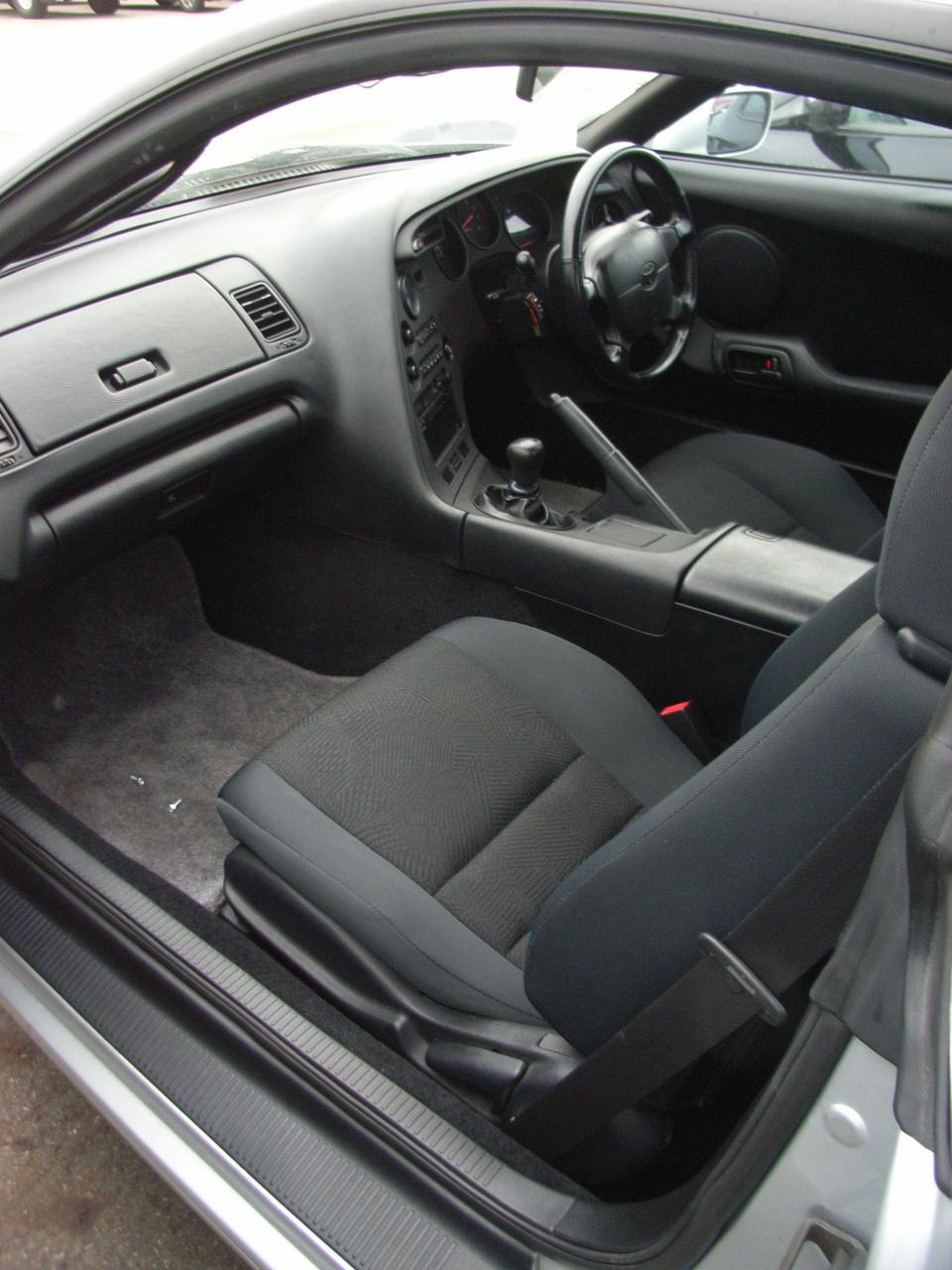 1995 Toyota Supra RZ-S 3L twin turbo interior