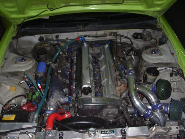 1989 Nissan Silvia 2.6L twin turbo engine
