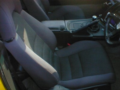 1994 Toyota Supra SZ non turbo interior